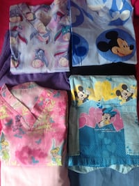Disney mickey and minnie mouse scrubs.