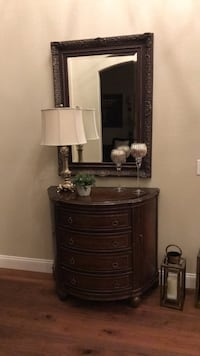 brown wooden dresser with mirror San Diego, 92131