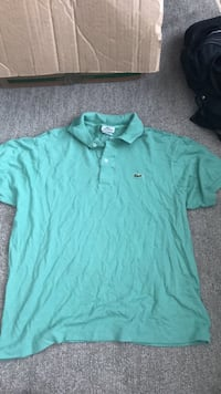 Lacoste Green Polo Shirt MUST SELL Coquitlam, V3J 1W4