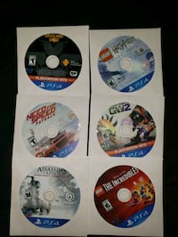 ps4 games (15 each)
