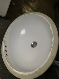 white ceramic bathroom sink for sale