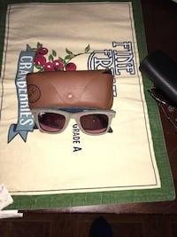 gray Ray-ban sunglasses with brown leather case Bowie, 20720