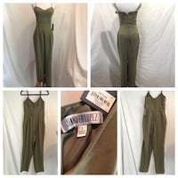 Jennifer Lopez Olive Green Jumpsuit NWT Size 2 Beacon Falls, 06403