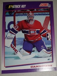 17 Single Cards of Patrick Roy... $10 Firm For All 4 Cards  Calgary