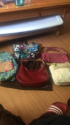 Coach purses all aunthentic some brand new never used