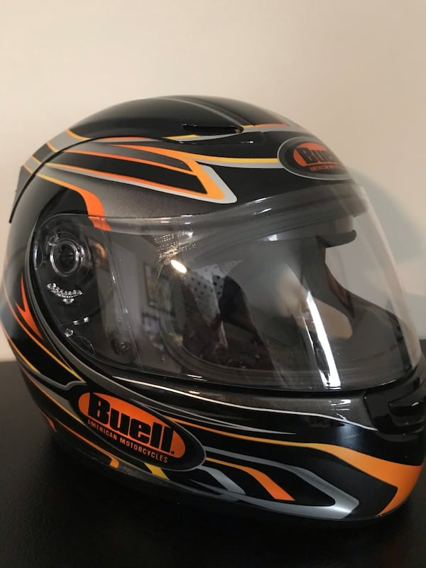 Buell Harley Motorcycle Helmet Large 5c0822b2-e5a2-4b3d-a35e-348503bf623f