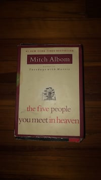 The Five People You Meet In Heaven by Mitch Albom 320 mi