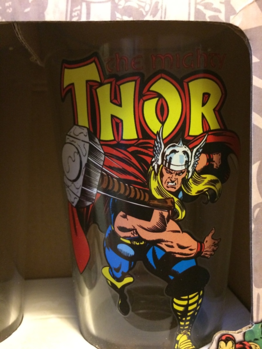 Set of 2 Thor Glass Cups - CA