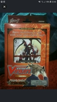 Vanguard Trial Deck Dragonic Overload English Singapore, 510613