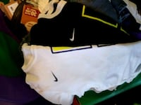 white and black Nike jersey Clovis, 88101