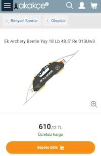 Ek archery beetle yay