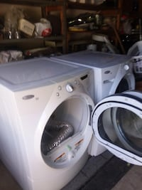 white front-load clothes washer San Antonio, 78230