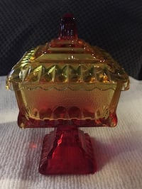 Vintage Jeanette Carnival Glass Candy Dish Virginia Beach, 23456