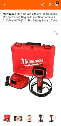 red and black Milwaukee power tool Adelphi, 20783