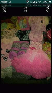 30 pieces of girls size 5 and 6 clothes Las Vegas, 89117