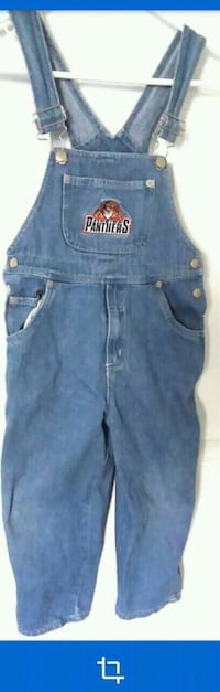 FLORIDA PANTHERS BIB OVERALL JEANS PANT FOR GIRLS Owings Mills, 21117