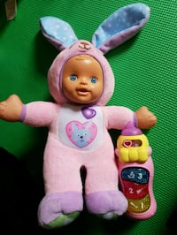 Vtech bunny baby with interactive bottle Hamilton, L8T 2S2