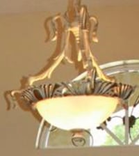 Genuine Alabaster Neo Classical Chandelier Fletcher, 28732