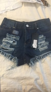 Brand new with tags high waisted shorts size 8 Reading, 19606