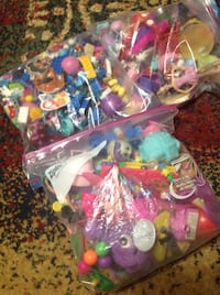 Little girls toy bags
