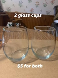 Glass cups