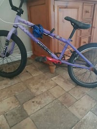 blue and red hardtail mountain bike Edmonton, T5N 0T6