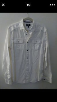 White button-up long-sleeved shirt Lake Worth, 33460