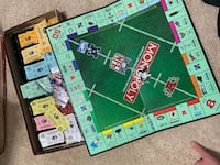 1998 NFL Limited Edition Monopoly Game - Best Offer Herndon