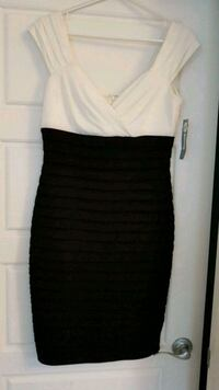 NEW white and black sleeveless dress Calgary, T3N 0E4