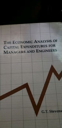 The Economic Analysis of Capital Expenditures for Managers & Engineers Alexandria, 22304
