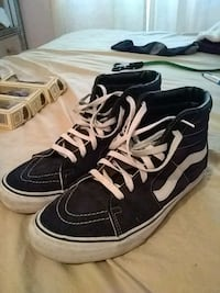 Black and white Vans high top Naples, 34113