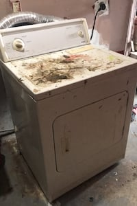 Dryer machine used