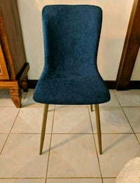 Dining chair, navy blue
