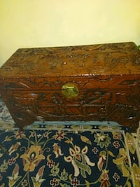 Hand carved oriental chest Miami, 33184