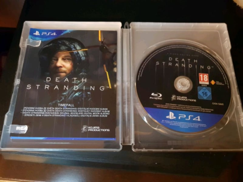 Ps4 Death Stranding steelbook+disc 0bb3bfc3-1a53-45dd-bdcd-a712b29f348e