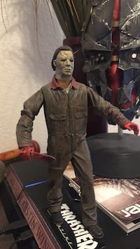 Limited edition Michael Myers standing action figure