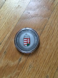 Hungarian security challenge coin Oakland, 94611