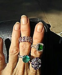 Three assorted design rings Russellville, 72801