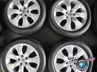 Honda aluminum wheels with TPMS and Michelin tires  Toronto, M1G 1N2