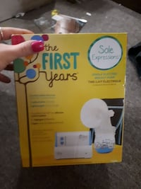 Never used breast pump  St. Catharines, L2R 5X9