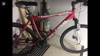 Red and black hardtail mountain bike Calgary, T2Y 4W5