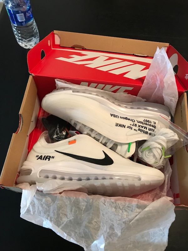nike de ti off white air max 97
