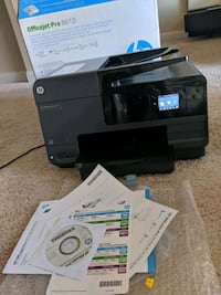 Brand new printer HP OfficeJet Pro 8610 scan copy  Las Vegas, 89139