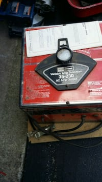 35 x 230 AC amp output welder by sears Fremont, 43420