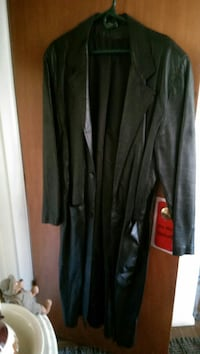 Nice fall /Spring long leather coat  Middletown, 17057
