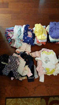 Baby Girl 65 pcs clothing sizes 3-6 months  Vienna, 22180