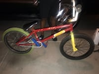 toddler's red and blue bicycle Mebane, 27302