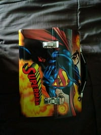 Superman tin box