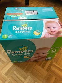 Pampers Swaddlers disposable diaper box Longueuil