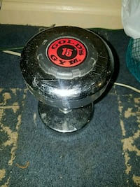 Golds gym 15 lb dumbell Water Valley, 38965